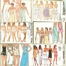 OOP Butterick Sewing Pattern Misses Lingerie Slips Petticoats Camisoles You Pick
