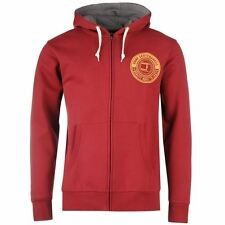 Tony Hawk Mens Wheel Zip Hoody Hooded Hoodie Long Sleeve Sweatshirt Top