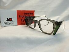 VINTAGE NOS American Optical AO Safety Glasses / Cables Clear Lens # 33