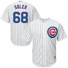Youth Jorge Soler White Chicago Cubs Official Cool Base Player Jersey - MLB