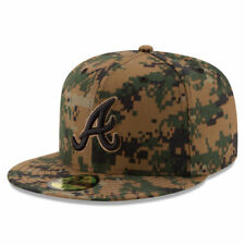 Atlanta Braves New Era 2016 Memorial Day 59FIFTY Fitted Hat - Digital Camo - MLB