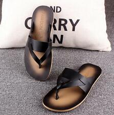 Stylish Men's casual flip flops Thong roma loafer shoes summer beach sandal shoe