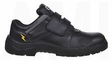 MENS BLACK DESTROYER WORK TRAINERS HIGH QUALITY SAFETY BOOTS SHOES TOE CAP