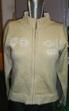 DKNY GIRLS CREAM ZIP THROUGH JUMPER BRAND NEW WITH TAGS age 16