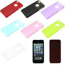 Ultra Thin Clear Transparent Matte Hard Back Case Cover For Apple iPhone 5 5S