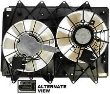 APDTY 732553 Cooling Fan Assembly Dual Radiator & Condenser For 07-09 Mazda CX-9