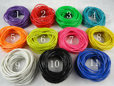 55pcs Lot Gummy Bands Bracelets Shag Rubber Gummies Band 11Colors