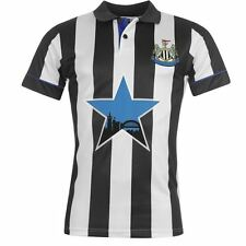 Score Draw Mens NUFC 94 Home Jersey Polo Shirt Short Sleeve Sports Tee Top