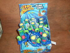 Job lot.Sling Shot Catapult with 3 soft foam balls. New in display box of 12.