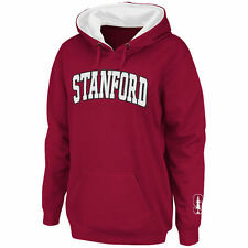 Women's Stadium Athletic Cardinal Stanford Cardinal Arch Name Pullover Hoodie