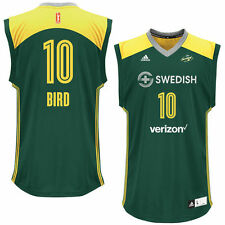 Women's adidas Sue Bird Green Seattle Storm Replica Player Jersey - WNBA