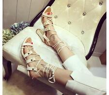 Fashion Women's Roma Gladiator Open Toe Strappy Sandal Party Summer Sexy Shoes