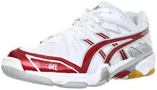 Asics Volleyball Shoes asics GELFORZA 5 LO TVR462 White x Red Japan Choose Size