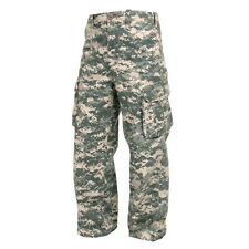 KIDS BOYS US MILITARY ARMY AIRSOFT ACU DIGITAL CAMO PARATROOPER PANTS FATIGUES