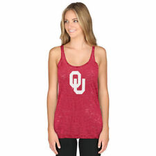 Oklahoma Sooners chicka-d Women's Twisted Racerback Tank Top - Crimson - College