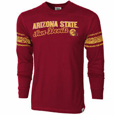 Arizona State Sun Devils Youth Striped Sleeve Long Sleeve T-Shirt - Maroon