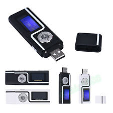 Portable USB Digital MP3 Music Player LCD Screen Support 16GB TF Card & FM Radio