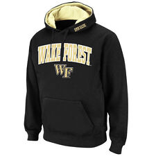 Wake Forest Demon Deacons Stadium Athletic Arch & Logo Pullover Hoodie - Black