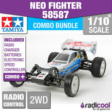 COMBO DEAL! 58587 TAMIYA NEO FIGHTER BUGGY DT-03 1/10th Buggy Radio Control Kit
