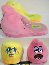 NEW Nickelodeon Spongebob Squarepants & Patrick Slippers ADULT PLUSH HOUSE SHOES