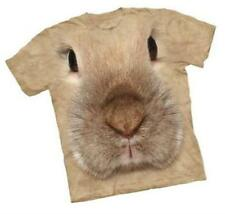 Mountain T Shirt Bunny Face The Mountain Tee Shirt Animal Rabbit Tan
