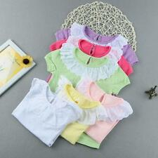 Infant Toddlers Girls Baby Summer T-Shirts Casual Children Clothes Tees A8I0