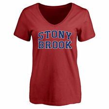 Stony Brook Seawolves Women's Everyday Slim Fit T-Shirt - Red - College