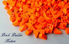 ☀️NEW! Lego ORANGE  1x2  BRICKS Slope 45° 1 x 2 Parts pieces bulk lot #3040