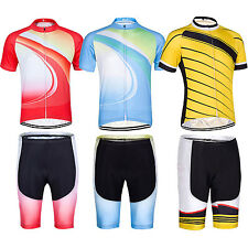 Men Women Lovers Suit Quick-Dry Breathable Wicking Cycling Sports Clothes Set