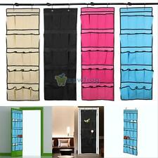 20 Pockets Over the Door Shoe Organizer Space Saver Rack Hanging Storage Closet