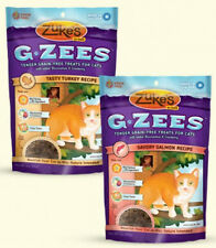 Zukes 3 oz. G ZEE Grain Free Tender Cat Treats Glucosamine & Cranberry 2 FLAVORS
