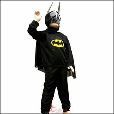 New kids batman outfit costume3-7Y/O S,M.L105-125cm Halloween Party gift Cosplay