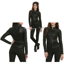 Marvel Her Universe Avengers Black Widow Logo Cosplay Jacket Hot Topic EXC S-XL