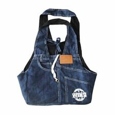 Small Pet Carrier Denim Bag Dog Cat Carry Sleeping Travel Shoulder Tote Supplies