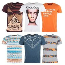 Fly53 Mens Crewneck T-Shirt In Various Colours From Get The Label