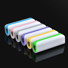 2600mAh DIY USB External Backup Portable Battery Charger Power Bank for phone