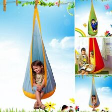 Hot Kid Pod Swings Child Outdoor Safety Hanging Seat Removable Chair Hammock Set