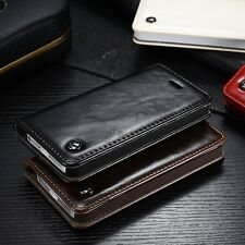 Luxury Leather Flip Cover Wallet Card Stand Magnetic Case For iPhone 6 6S Plus