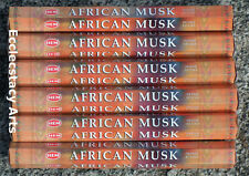 Hem African Musk Incense 20-40-60-80-100-120 Sticks You Pick Amount {:-)