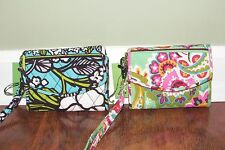Vera Bradley ISLAND BLOOMS or TUTTI FRUTTI iPhone SUPER SMART WRISTLET Case NWT