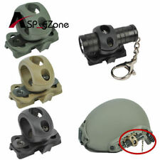 "NEW Quick Release 1"" Flashlight Clamp Holder Mount for FAST Helmet Rail Surefire"