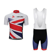 Men's Cycling Jersey Set Bicycle Clothing Short Sleeve Sportwear Coverall Shorts
