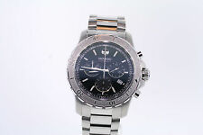 Men's Movado  2600110 Series 800 Chronograph Stainless Steel Black Dial Watch