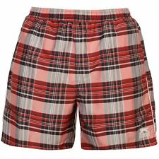 Slazenger Mens Checked Swim Shorts Summer Beach Water Pool Swimwear Bottoms