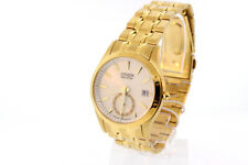 Men's Citizen BV1012-51P Eco-Drive Gold-Tone Stainless Steel Watch
