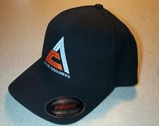 Black Flex Fit Allis Chalmers Triangle Embroidered Solid Hat (2 sizes)