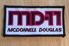 McDonnell Douglas 11  Aviation -  Woven Badge/Patch - Rare - Flying, Aerospace