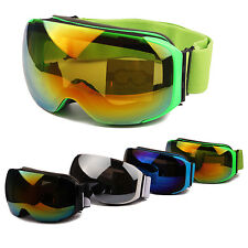 Ski Goggles Double Lens Anti-fog Snowboard Skiing Motorcycle Winter Eye Glasses