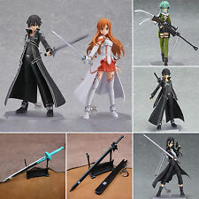 Japan Anime Sword Art Online SAO YuuKi Asuna Kirito Kids Cosplay PVC Figure Toy
