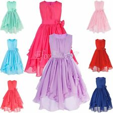 Flower Girl Baby Dress Princess Vintage Special Occasion Party Wedding Pageant